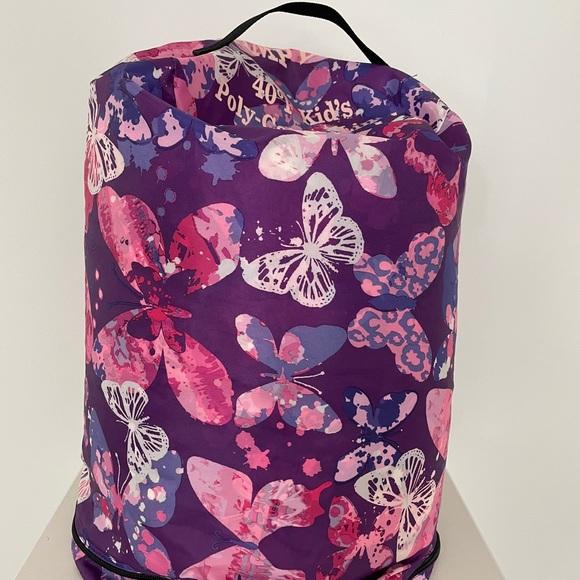 Kids LL Bean Sleeping Bag Butterflies 40 deg